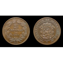 Luxembourg - 2 1/2 centimes 1901 - BAPTH