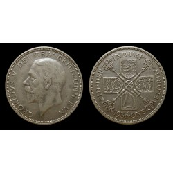 Grande-Bretagne / Great Britain - Georges V - 1 Florin argent 1936