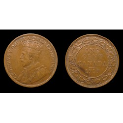 Canada - Georges V - 1 Cent 1919