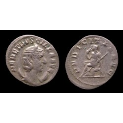 Empire romain - Herennia Etruscilla - Antoninien - PVDICITIA AVG (250)