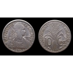 Indochine / French Indochina - 10 Centimes 1940 - Magnétique