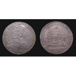 France - Louis XV - Jeton argent / Silver token - Trésor Royal 1737