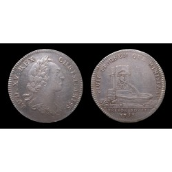 France - Louis XV - Jeton argent / Silver token 1752 - Trésor Royal