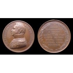 France - Médaille assassinat du Duc de Berry 1820 - Qualité / High grade