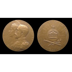 George V - Médaille Couronnement 1911 - Homage British Empire - Nice grade