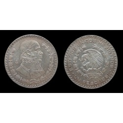 Mexique - 1 Peso 1961